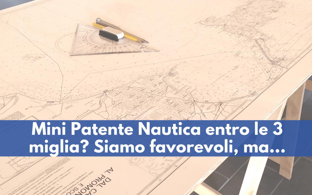 Mini Patente Nautica entro le tre miglia? Buona Idea!